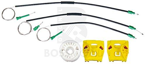 Bossmobil 9-3 (YS3F), (Kombi), Delantero derecho, kit de reparación de elevalunas eléctricos