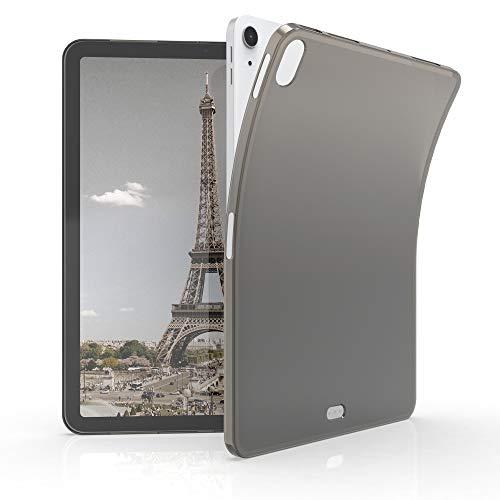 kwmobile Funda Compatible con Apple iPad Air 4 (2020) - Carcasa para Tablet de TPU - Cover en Negro/Transparente