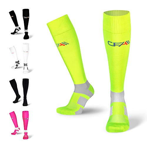 Ciclismo/  / Maratona Duathlon / Nero//Rosa Compressione Sleeves Kompressionssleeve Tube Tubes Wade ueberzieher Gambali Triathlon ACTIVE COMPRESSION Speed Performance Calf Sleeves/