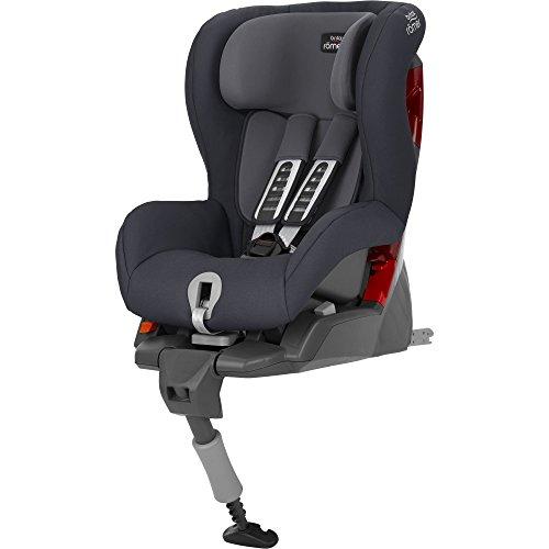 Britax Römer Kindersitz 9 - 18 kg, SAFEFIX PLUS Autositz Gruppe 1, Storm Grey