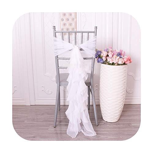 Nuestra dama muy popular salsa rizado puro, partida prometida para boda, funda de silla rosa con pol