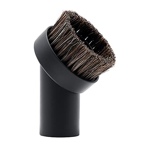 DeepRoar Round Dusting Brush Vacuum Attachment Replacement Soft Horsehair Bristle, Suits for Most Brand Accepting 32mm 1.25