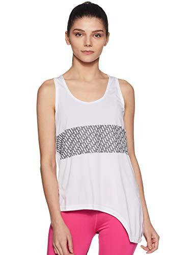 PUMA Bold LogoTank Camiseta De Tirantes, Mujer, Blanco White, M