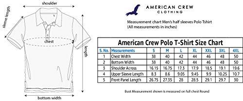 AMERICAN CREW Men's Regular Fit Polos