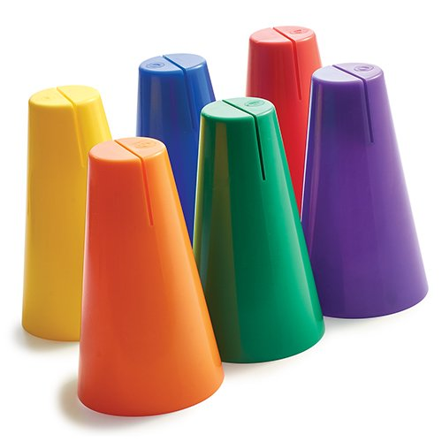 BSN Cone Sign Holder Prism Pack