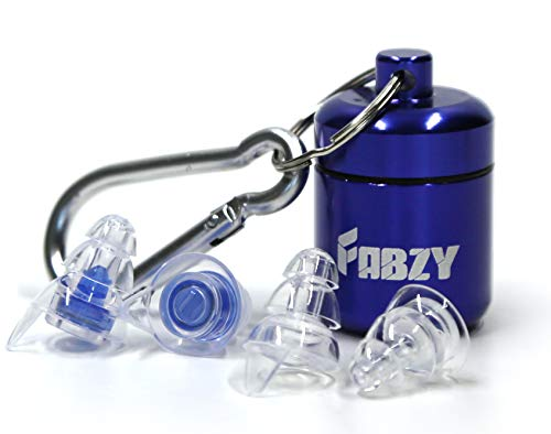 High Fidelity Hearing protection earplugs by FABZY. Noise Cancelling...