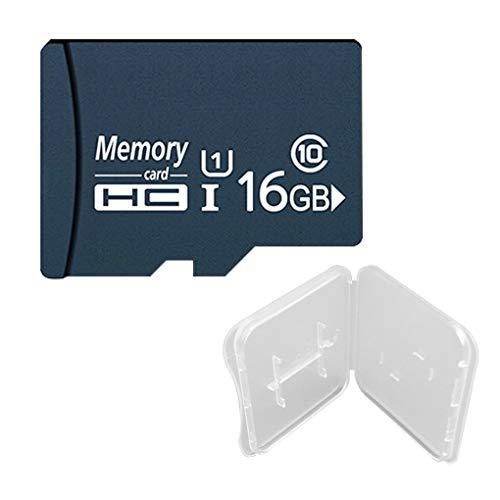 Xinjieda ZYElroy Tarjeta de Memoria SD Card Resuable Universal Mini Memoria Flash para Smartphone portátil Tarjeta Micro Ultra, 16 GB
