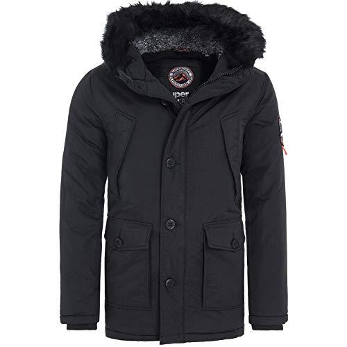 Superdry Everest Parka Jacket Black