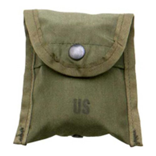 Military Outdoor Clothing previously Issued U.S. g.i. Olive Drab Nylon Compass per Primo Soccorso