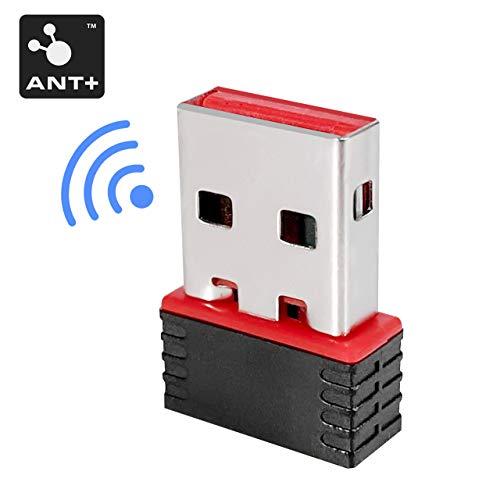 CHILEAF ANT+ Dongle USB Stick-Transmitter und-Empfänger, mit Schnellerem Datentransfer-Adapter Dongle Kompatibel für Garmin, Sunnto, Zwift, TacX, PerfPRO Studio, CycleOps Virtual Trainer TrainerRoad