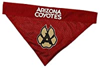 NHL Arizona Coyotes Bandana for Dogs & Cats, Small/Medium. - Cute & Stylish Bandana! The Perfect Hockey Fan Scarf Bandana, Great for Birthdays Or Any Party!