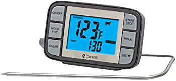 Taylor Grill Digital Thermometer with Probe Timer