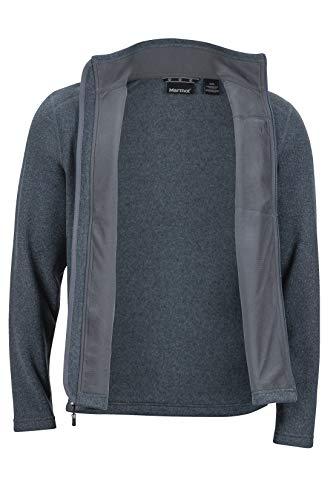 Marmot Drop Line Jacket Veste POLAIRE, Veste d'extérieur à fermeture éclair Sur toute la...