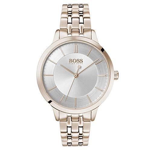 Hugo Boss Dames Analoog Quartz Horloge met RVS Band 1502514