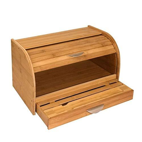 ZPR Brotkasten Holz,bambusbrotbox,...