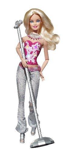 Mattel V9513 - Barbie Fashionistas Rockstar, Puppe Glam