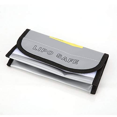 OUYBO Ignífugo Li-Po batería Li-Po Bolsa Protector seguro de carga caja saco del bolso bolsa a prueba de fuego a prueba de explosiones for el modelo de RC aviones no tripulados de coches Accesorios de