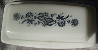 Pyrex Old Town (Blue Onion) Covered Butter Dish