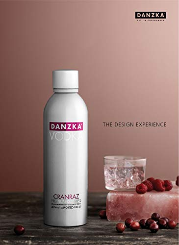 Danzka | Original | Premium - Wodka | 1 x 700ml | Aluminiumflasche | Skandinavisches Design | Copenhagen - 5