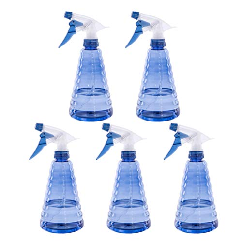 Milisten 5 STK Sprüher 200ml Leer Sprühflasche Nebel verstellbar nachfüllbare Wassersprüher Sprayers Salon Schönheit Werkzeuge Zimmerpflanzen Bewässerung Blau