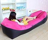 Bureze Saco de dormir equipo de camping perezoso bolsa inflable de aire sofá de playa cama de aire silla hamac gonflable tumbona sofá inflable laybag