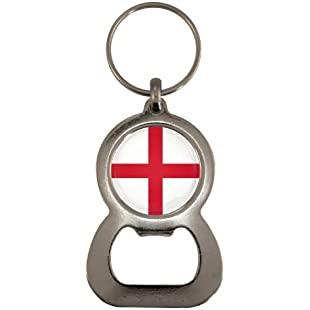1StopShops England St Georges Cross Flag Design Bottle Opener Keyring
