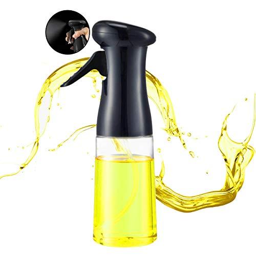 Olive Oil Sprayer, Oil Spray for Cooking, 210 ml Oil Sprizer, Olive Oil Mister Spray Bottle for Cooking, Baking, Grilling, Salad, Oil Sprayer Dispenser, Cooking Spray Bottle for Oil
