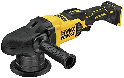 DEWALT 20V MAX XR Cordless Polisher, Variable-Speed, Random Orbit, 5-Inch, Tool Only (DCM848B)
