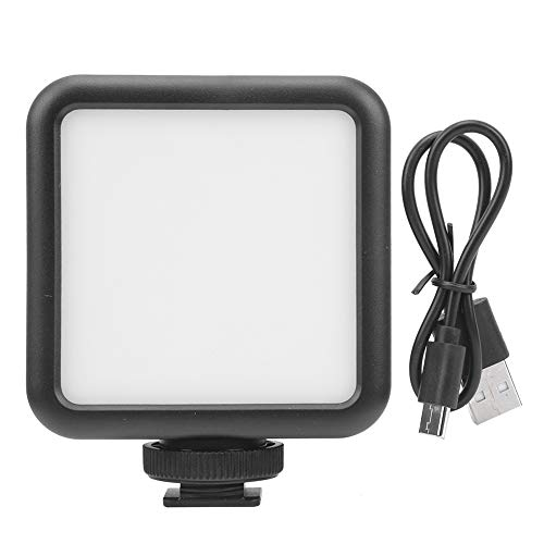 Aukson Fülllicht, W49s 60 ° 5W Mini-LED-Fotografie Fülllichtaufnahme Handy-Live-Übertragung