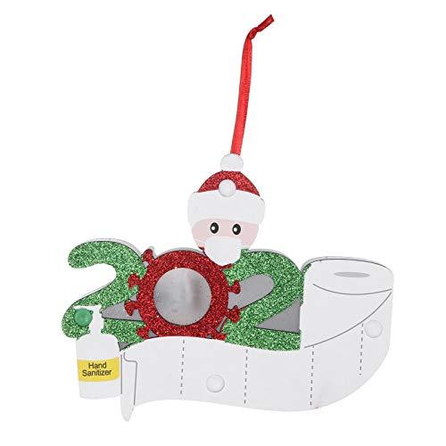 Wenese Weihnachten Adventskalender 2020 Anhänger Holzanhänger Weihnachtsanhänger Dekohänger Weihnachtsbaum Tannenschmuck Weihnachtsdeko Für Beutel Weihnachtsbaum Deko