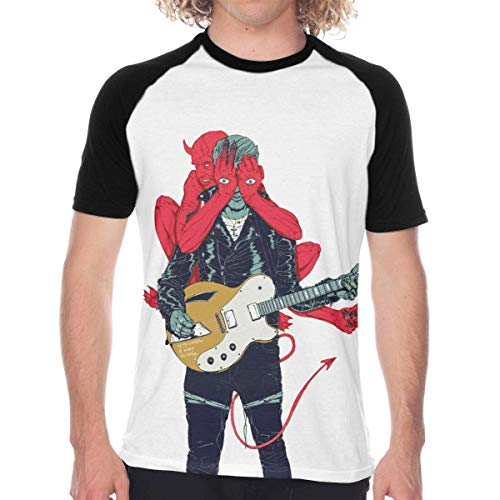 Queens of The Stone Age Villains Summer Men's Personality Fashion Baseball Short Sleeve T-Shirt