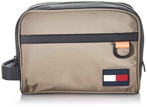 Tommy Hilfiger Herren Tommy Washbag Taschenorganizer, Grau (Nomad), 1x1x1 cm