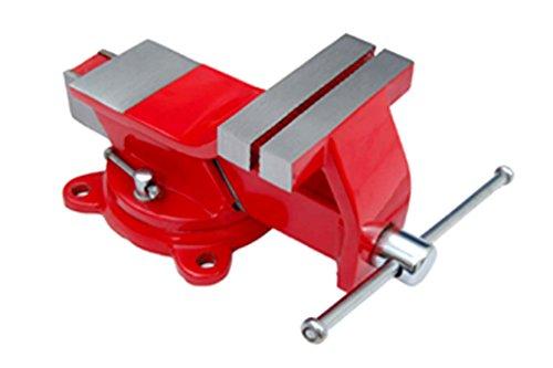 Max-Power 040281 - Tornillo de banco giratorio de 125 mm