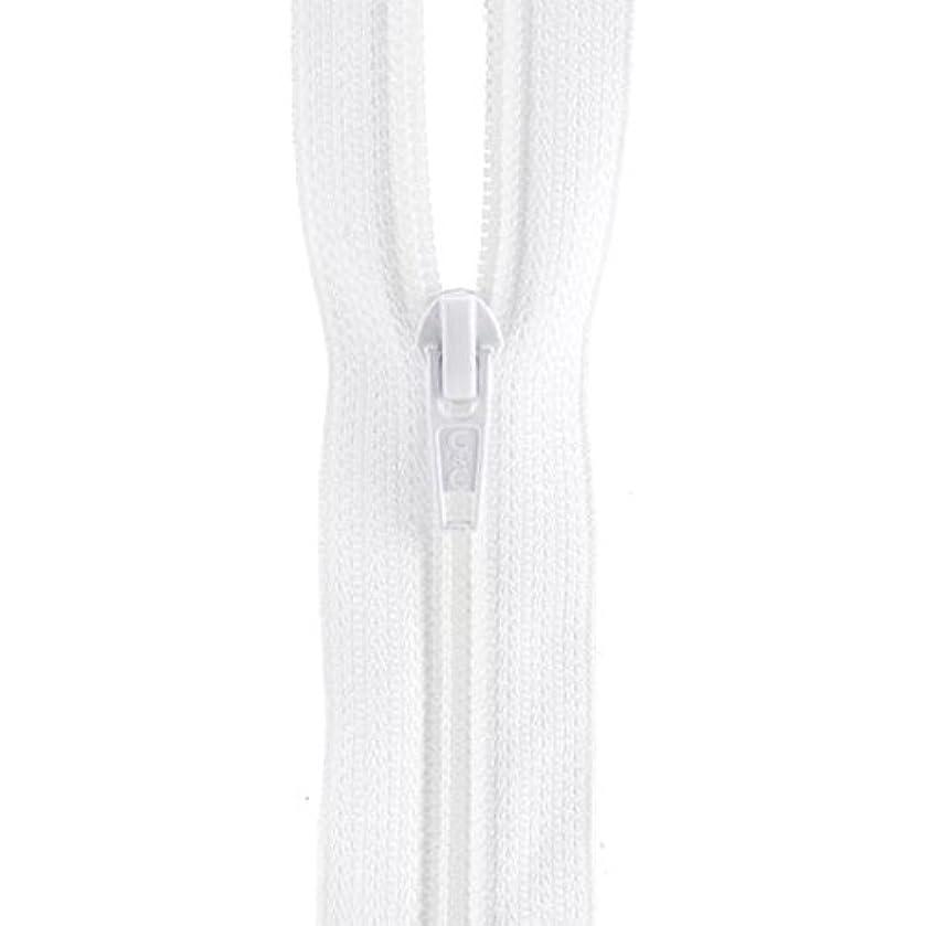 Coats: Thread & Zippers F7207-WHT All-Purpose Plastic Zipper, 7