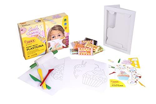 Jovi Kit para Pintar con PLASTILINA, Cool Candy (263CC), Multicolor
