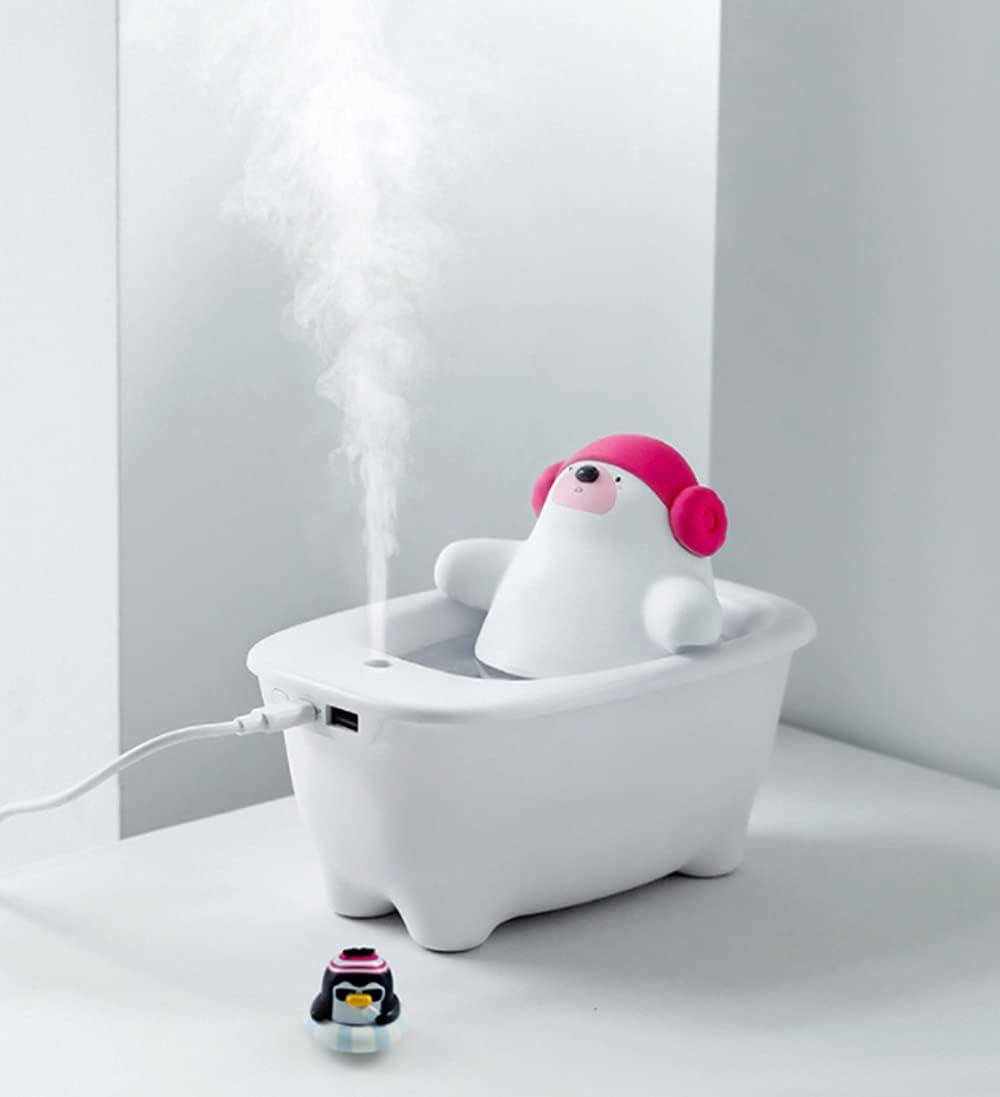 550Ml Air Humidifier Charlotte Ranking TOP12 Mall Creative Polar bathtub USB Hu Desktop Bear