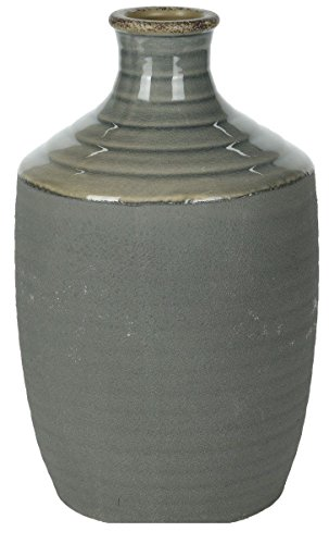 Koop Bouteille en Forme de Vase en Céramique Vase soliflore Grande en Rose Blanc Bleu et Gris Xtra Large