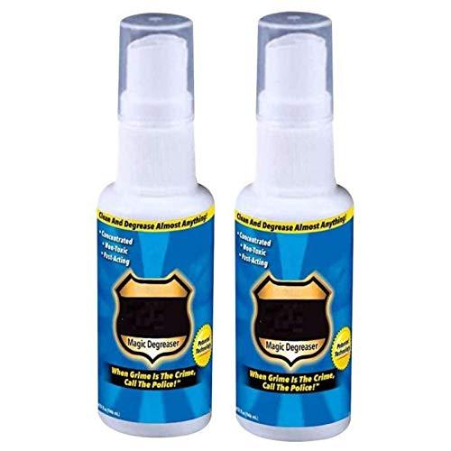 iusaSDZ Spray desengrasante de Cocina, Spray de Grasa mágica, Spray Limpiador desengrasante de policía de Grasa para Cocina, desengrasante para el hogar, Suciedad diluida, 100 ml 2pcs