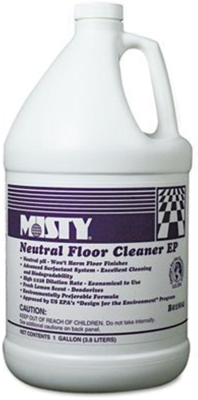 Neutral Floor Cleaner EP, Lemon, 1gal Bottle, 4 Carton by LAGASS