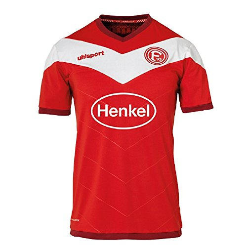 uhlsport Fortuna Düsseldorf Heimtrikot 2018/19 Tradition Rot (164)