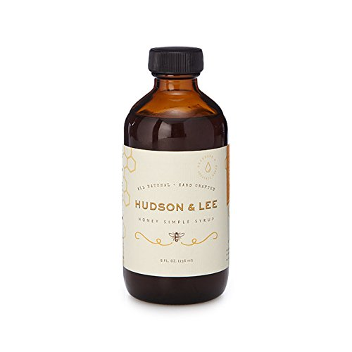 Hudson & Lee Honey Simple Syrup, Original Flavor, 8 oz