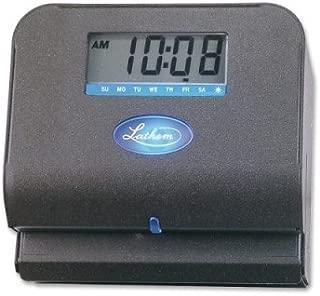 LATHEM 800P ELECTRONIC - THERMAL PRINT TIME CLOCK (800P) -