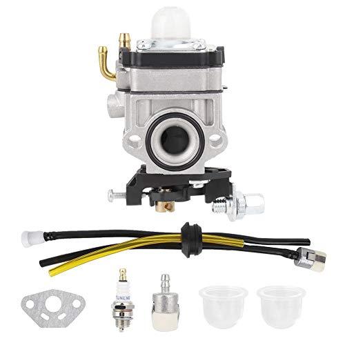 Mumusuki Jeu de carburateurs Kit de carburateurs pour Tanaka TBC-2510 TBC 2510 Cisaille à Gazon à remplacer Remplacer Carb # 4554728090