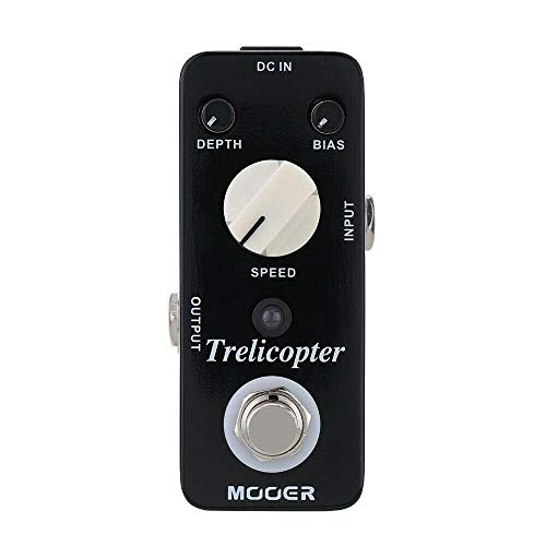 CAMOLA Mooer Trelicopter Effects Guitar Tremolo Pedal Tremolo Guitar Effect Pedal True Bypass