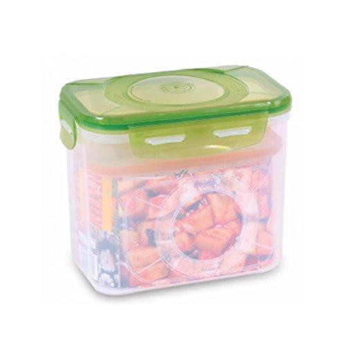 E-Jen Premium Kimchi, Sauerkraut Container Probiotic Fermentation with Inner Vacuum Lid (Earthenware Green, 0.9 gal/ 3.4L)