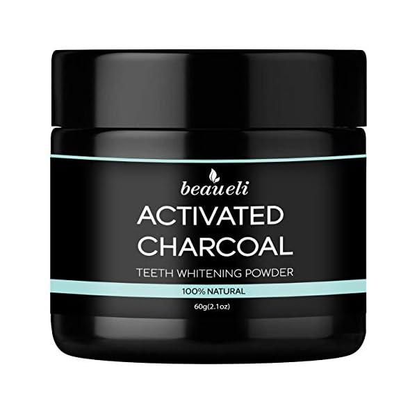 Beaueli Whitening Activated Charcoal Powder