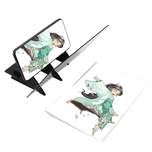 モバイルタブレット描画プロジェクターコピーボード透明ミラーライティング絵画