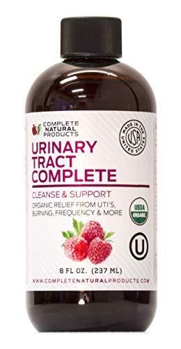 Urinary Tract Complete 8oz - Organic Liquid Bladder, UTI, UTI Prevention, Yeast, Candida Infection Treatment
