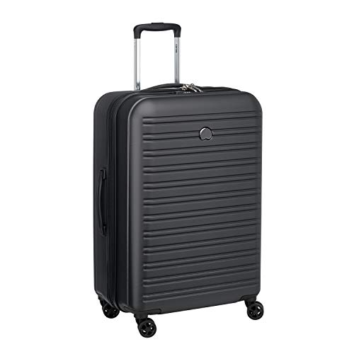 Delsey Paris SEGUR 2.0 Hand Luggage, 70 cm, 105 liters, Black (Schwarz)