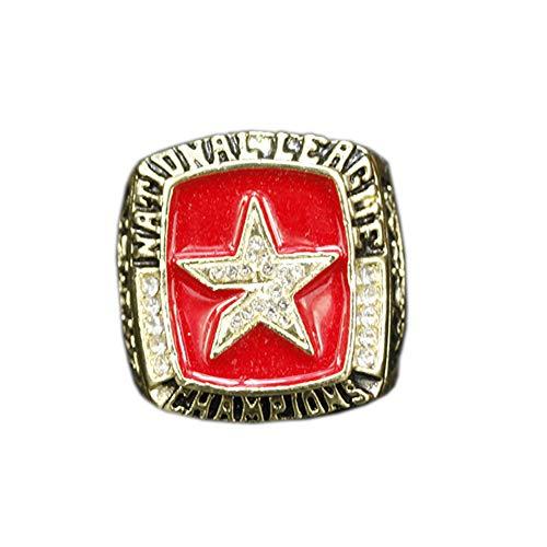 Anillo de Campeonato de Los Astros de Houston de La Temporada 2005 de La Liga de Béisbol Profesional MLB, Anillo Grabado con Abanico, 11#,with Box,11#